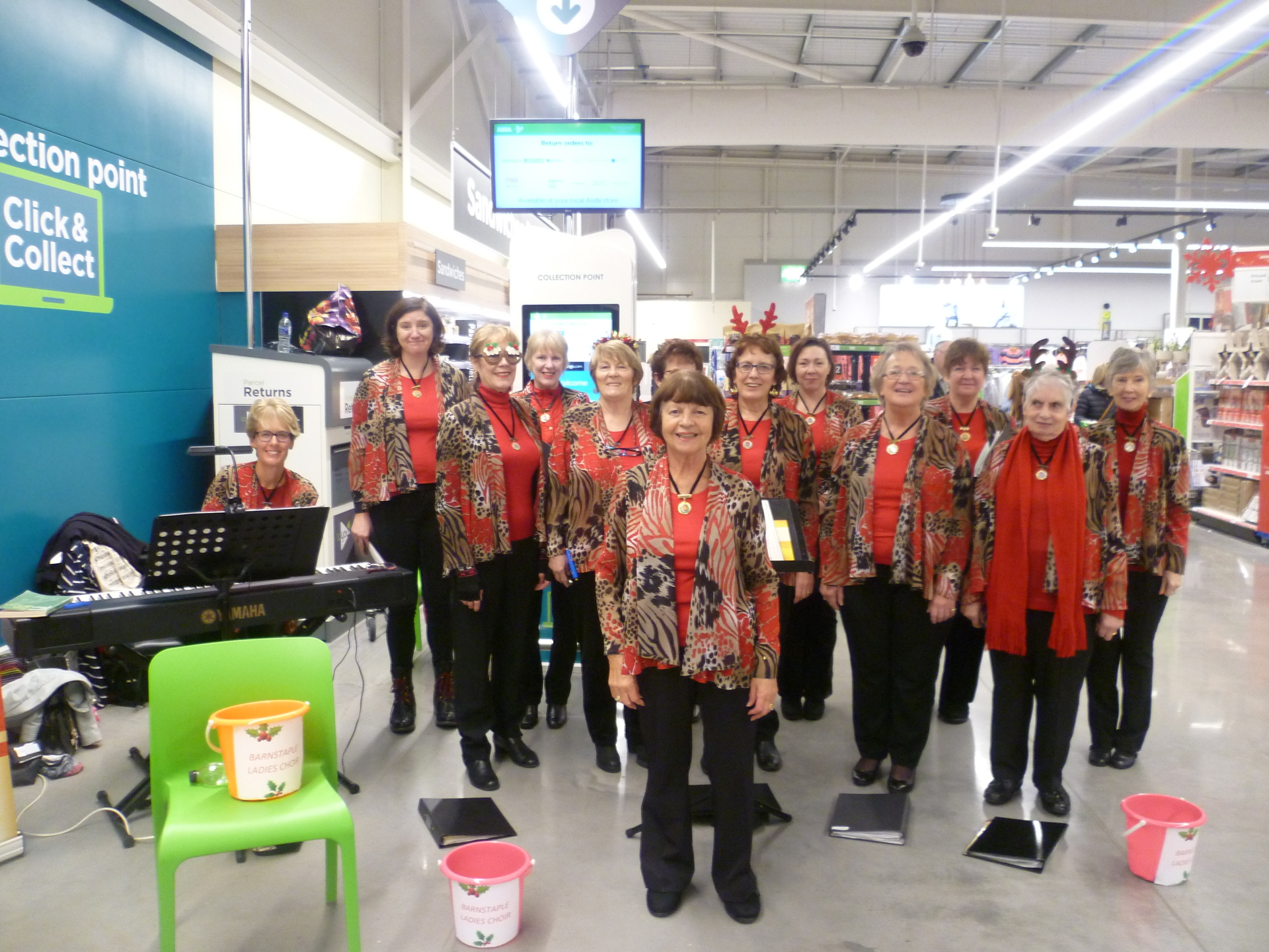 Carols at Asda